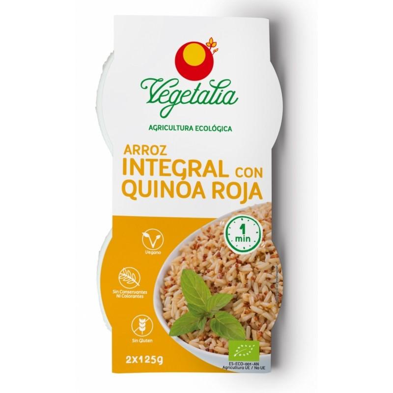 Arroz integral y quinoa 2uds x 125 g Vegetalia