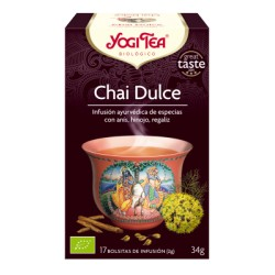 Yogi tea Chai dulce BIO 17 bolsitas