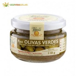PATE OLIVAS VERDES BIO 110GR VEGETALIA