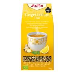 Yogi tea Jengibre limón Chai BIO 90 g