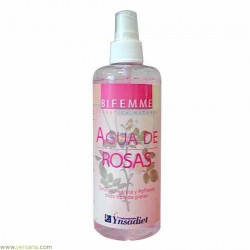 Agua de rosas spray 250 ml Bifemme
