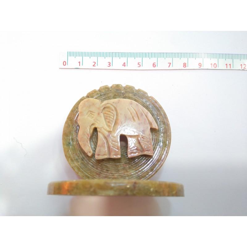 Quemador de incienso piedra elefante
