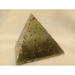 Piramide de pirita 5x5 cm