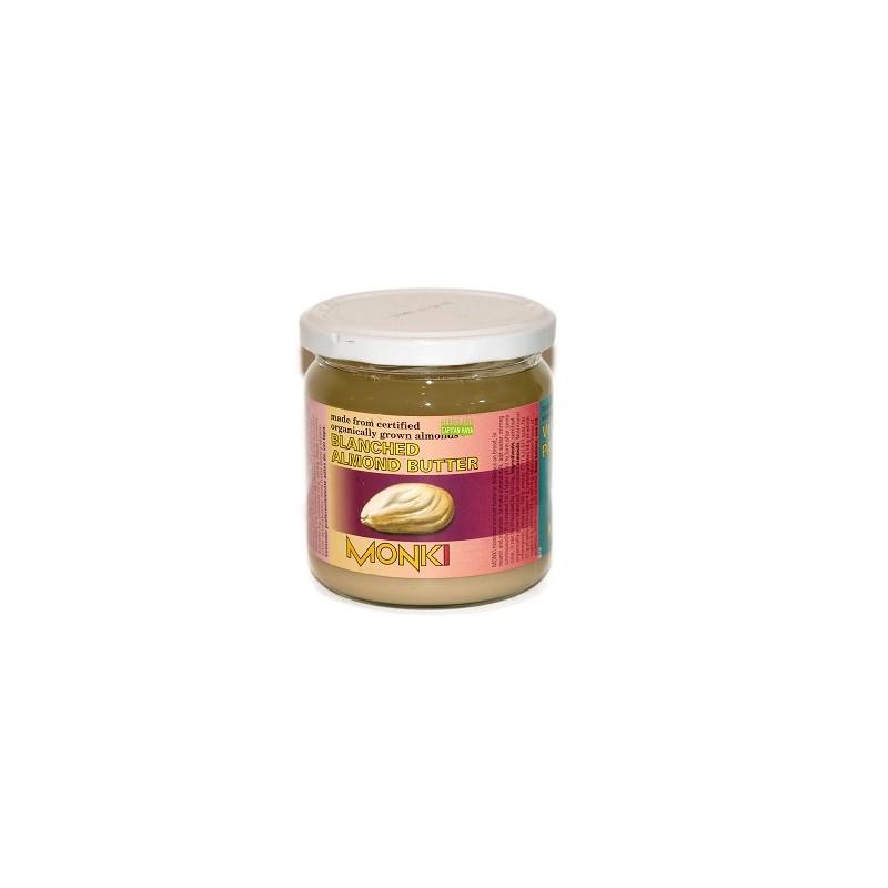 Crema de Almendras Blancas Bio 330g Monki