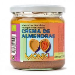 Crema de Almendras Tostadas Bio 330g Monki
