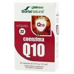 Coenzima Q-10 Anti Aging MGdose 30 comp. Soria Natural
