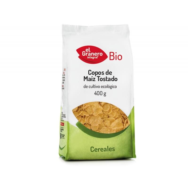 Copos de Maíz tostados (corn flakes) BIO 400g El granero