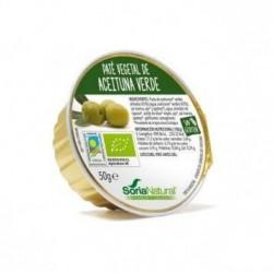 Paté Vegetal de Aceituna Verde BIO 2 UD x 50 g Soria Natural