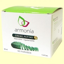Crema de pepino depurativa reguladora Armonía 50 ml