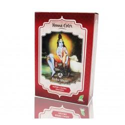 HENNA Super Caoba Oscuro en polvo 100 g Radhe Shyam