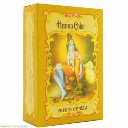 HENNA Rubio Ceniza en polvo 100 g Radhe Shyam