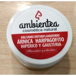 Bálsamo antiinflamatorio de árnica, harpagofito, hipérico y gaulteria 60 ml Ambientea
