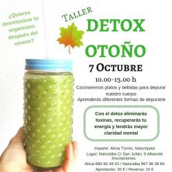Taller Detox Otoño