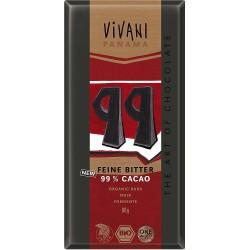 Chocolate negro 99% BIO Vivani