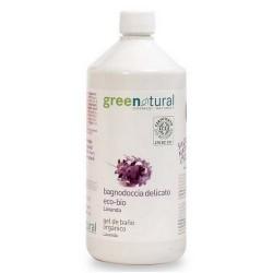 Gel de ducha lavanda ecológico 1 litro Greenatural