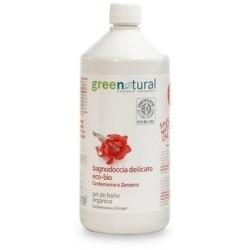 Gel de ducha jengibre y cardamomo ecológico 1 litro Greenatural