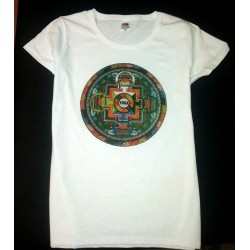 Camiseta diseño yoga 2017