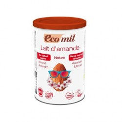 Bebida de almendras en polvo nature (sin azúcar) Bio 400g Ecomil