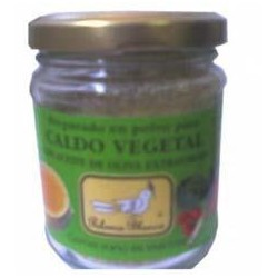 Caldo vegetal en polvo BIO 125 g Paloma Blanca