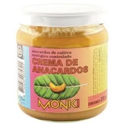 Crema de Anacardos tostados Bio 330g Monki