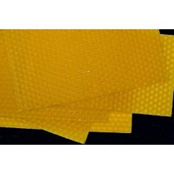 Cera virgen de abeja en lámina 120g