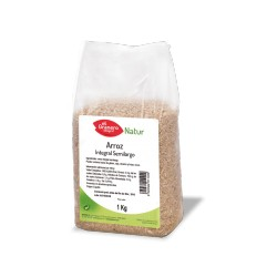 arroz integral semilargo 1kg El granero integral