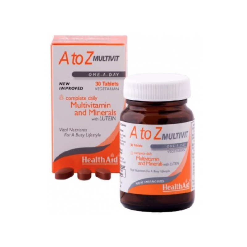 Multivitaminico A-Z 90 comp Health Aid