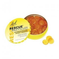 Rescue Remedy (Remedio Rescate) caramelos sabor naranja 50 g Bach Flowers