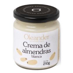 Crema de Almendras Blancas (peladas) 210g OLEANDER