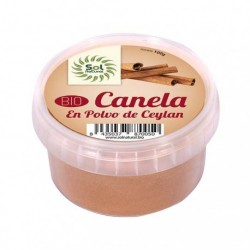 Canela ceylan molida 100 g bote Sol Natural
