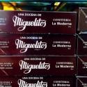 Miguelitos de chocolate blanco de la Roda La Moderna