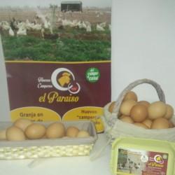 Huevos camperos El paraiso (media docena)