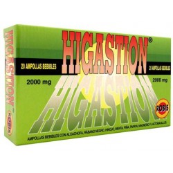 HIGASTION 20 VIALES ROBIS