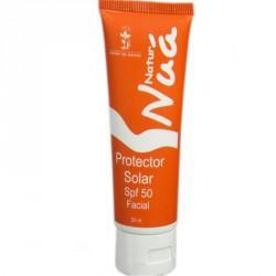 Protector solar facial aguacate y aloe SPF 50 NaturNua