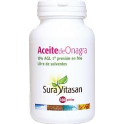 Aceite de Onagra 500 mg 180 perlas Sura Vitasan