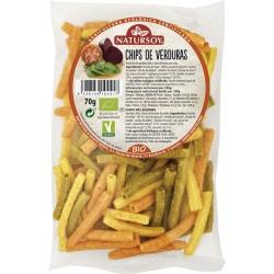 Chips de verduras bio 65gr Natursoy