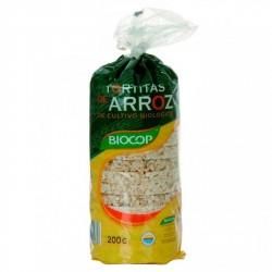 TORTITAS DE ARROZ CON SAL 200 GR BIOCOP
