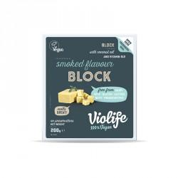 Queso Vegano ahumado 200g bloque Violife