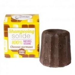Champú Sólido cabellos normal chocolate 55 g BIO Lamazuna