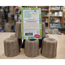 Champú Sólido GRANEL cabello graso verbena exótica 55 g BIO Lamazuna