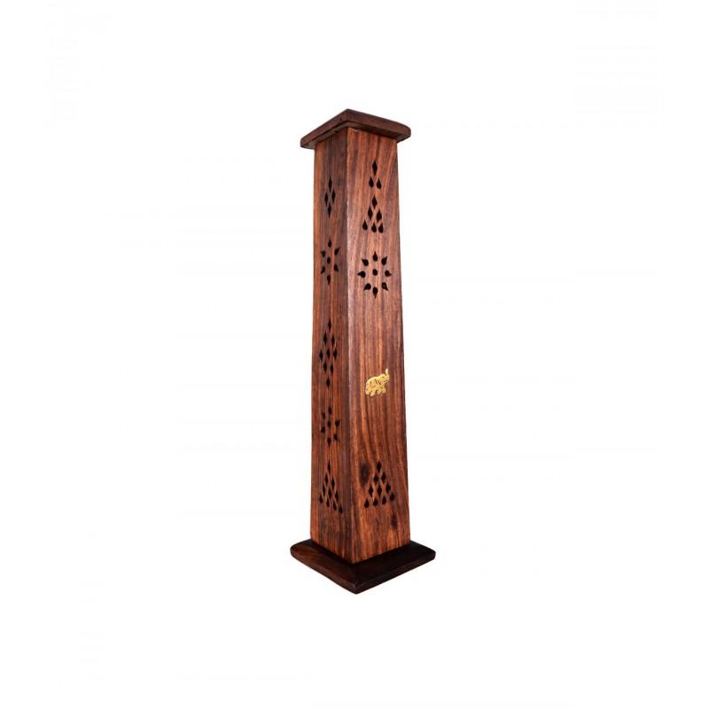 Incensario torre en madera