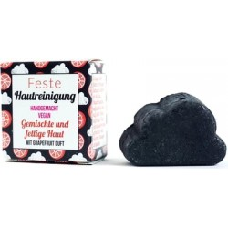 Jabón facial sólido piel mixta grasa pomelo 25 g BIO Lamazuna