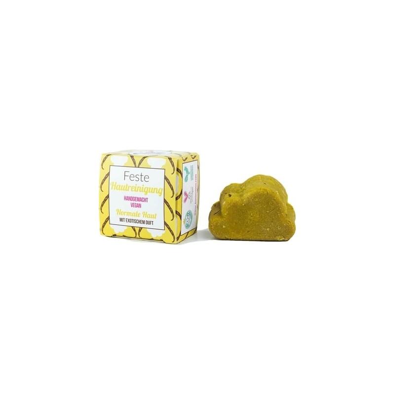 Jabón facial sólido piel normal frutas exóticas 25 g BIO Lamazuna