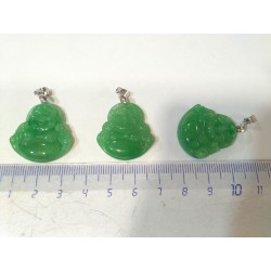 Colgante buda jade verde
