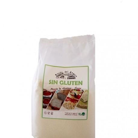 Mezcla Suave de harinas (Sin Gluten) 1 kg RINCÓN DEL SEGURA
