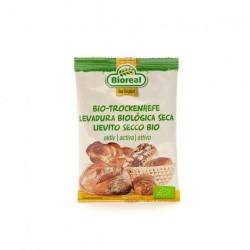 Levadura seca bio pan y bollería 9 g Bioreal