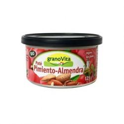 Paté Pimiento Almendra Bio lata 125 g Granovita