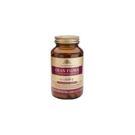 CRAN FLORA (arand.rojo con probiot.y ester-C) cap Solgar
