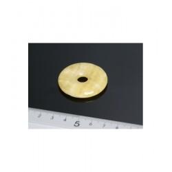 COLGANTE DONUT CALCITA 40 mm