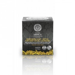 Jabón nergro nórdico detox 120 mg Natura Siberica